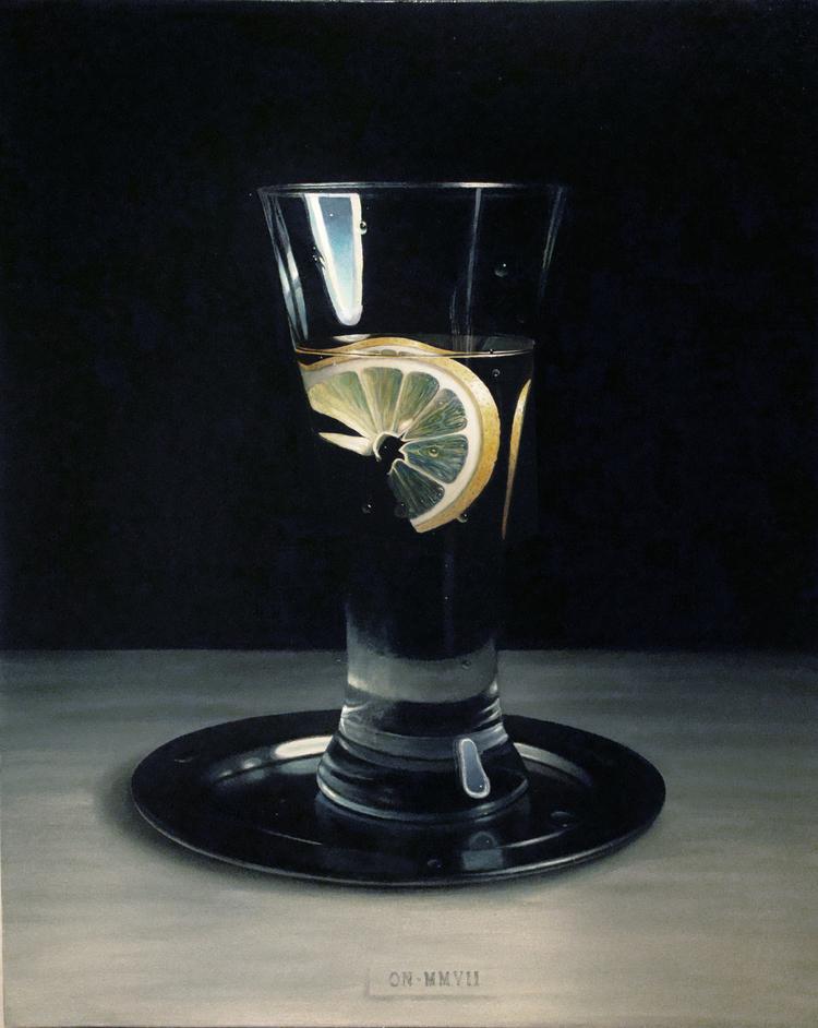 'Water with lemon', 2007, ett konstverk av Oleg Nourpeissov