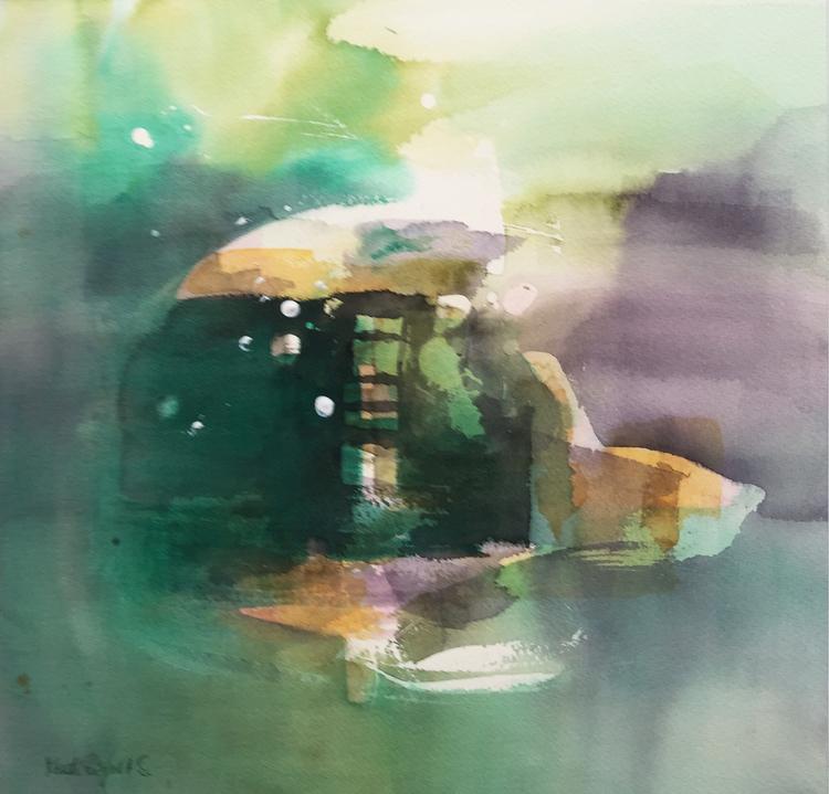 'Slumpens tillhåll', 2020, ett konstverk av Kersti Rågfelt Strandberg