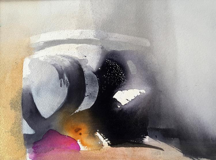 'Tumult', 2020, ett konstverk av Kersti Rågfelt Strandberg