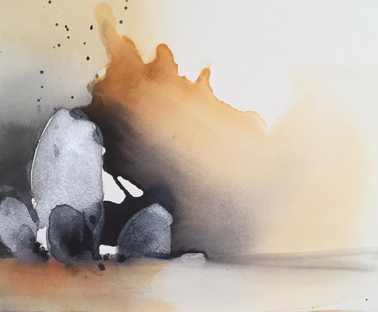 'Oro', 2020, ett konstverk av Kersti Rågfelt Strandberg