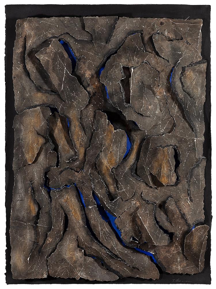 'Havet under det gamla berget', 1992, ett konstverk av Torbjörn Östman