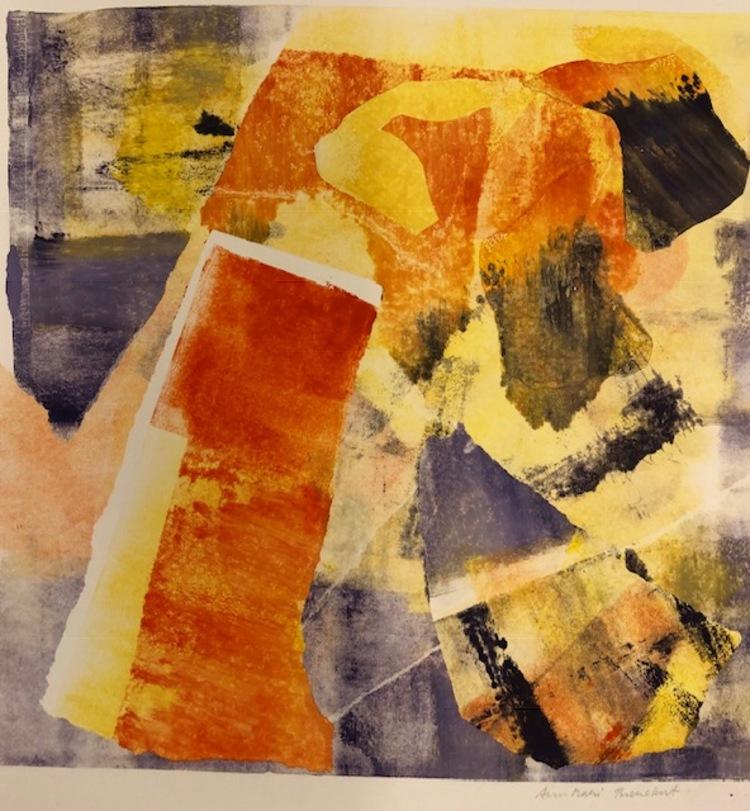 'Segraren', 2019, ett konstverk av AnnMari Brenckert