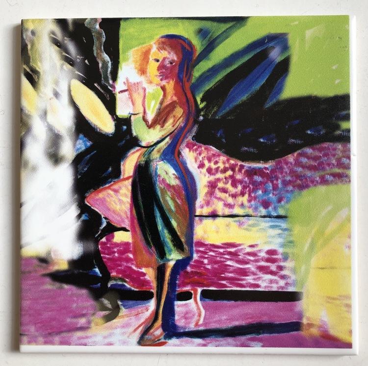 'Det sista blosset', 2019, ett konstverk av AnnMari Brenckert