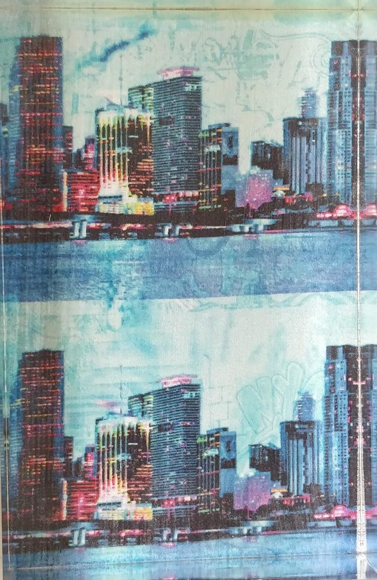 'Skyline', 2020, ett konstverk av Annelie Sandström