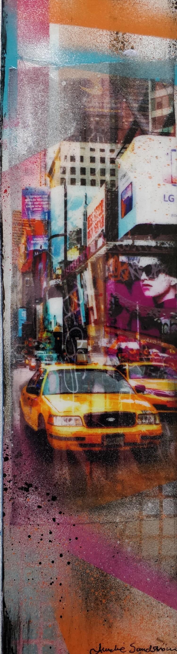 'NYC Traffic', 2020, ett konstverk av Annelie Sandström