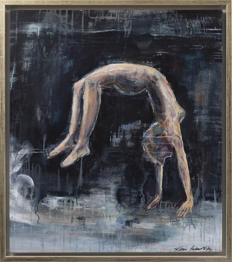 'Hoppa - att våga', 2019, ett konstverk av Karin Holmström