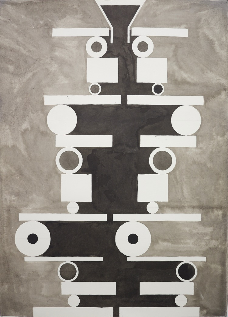 'Stapel', 2017, ett konstverk av Johan Wiking