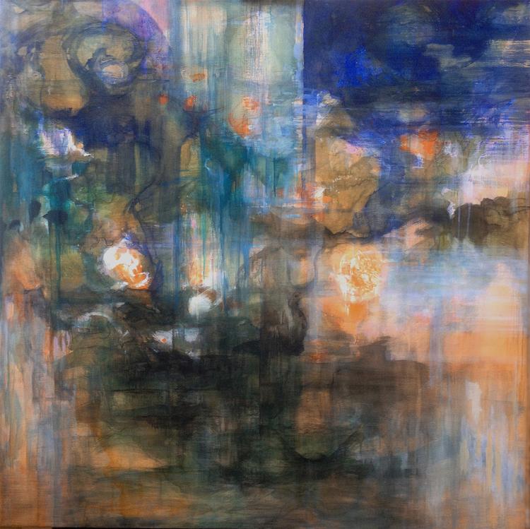 'Inscape I', 2019, ett konstverk av Helen Engström