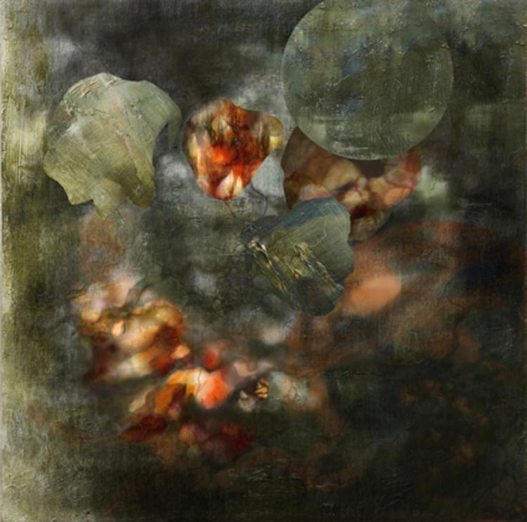 'Fragments I', 2016, ett konstverk av Helen Engström