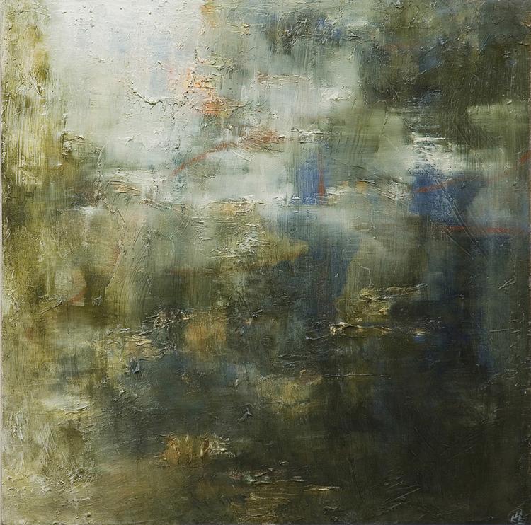 'Närvaro II', 2016, ett konstverk av Helen Engström