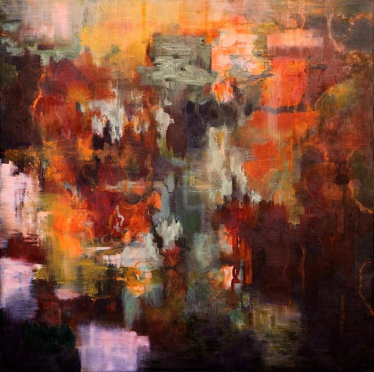'Inscape III', 2018, ett konstverk av Helen Engström