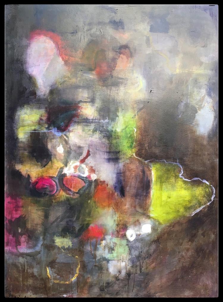 'Green Heart', 2019, ett konstverk av Maria Tolstoy Sinclair