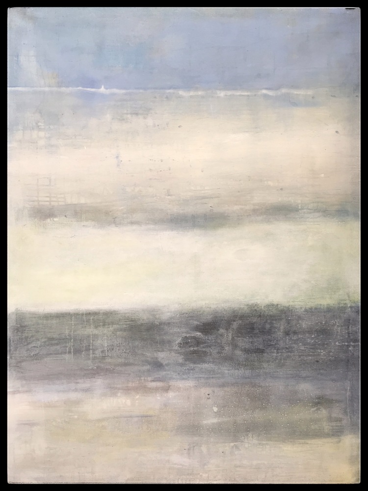 'Blue Ocean', 2019, ett konstverk av Maria Tolstoy Sinclair