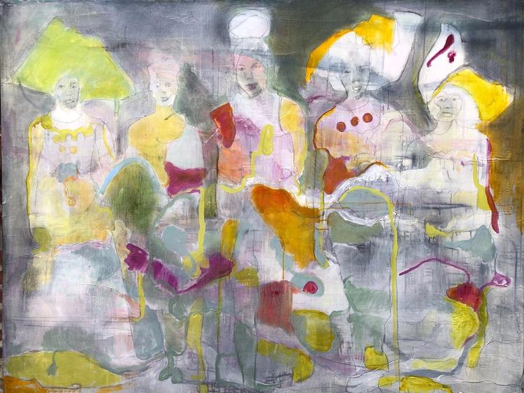 'Let the sun Shine', 2020, ett konstverk av Maria Tolstoy Sinclair