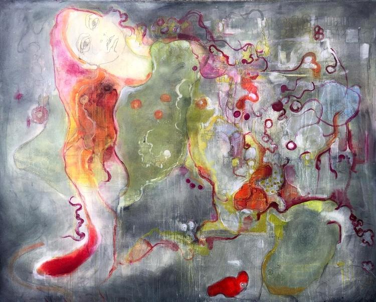 'Everything falls into place', 2020, ett konstverk av Maria Tolstoy Sinclair