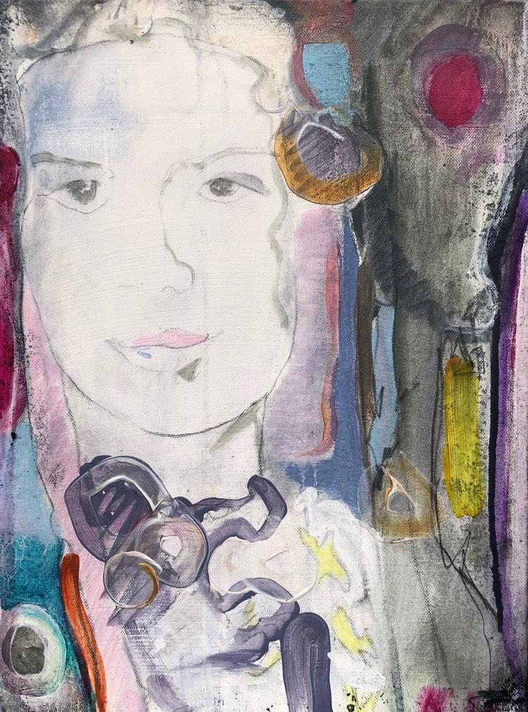 'Girl', 2020, ett konstverk av Maria Tolstoy Sinclair
