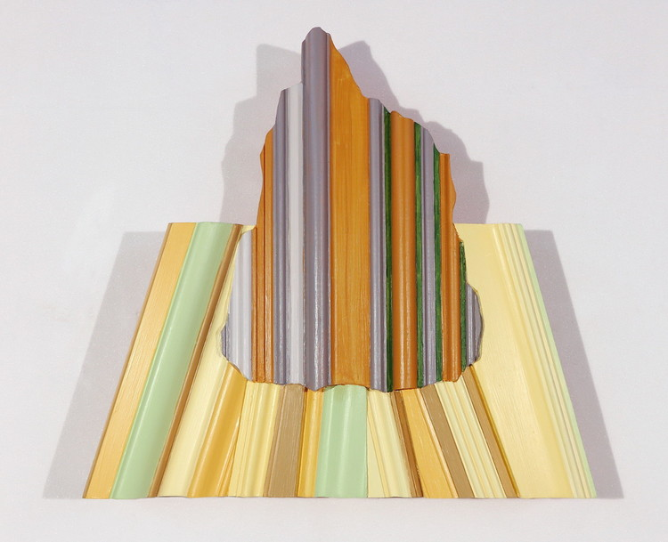 'Berg och äng', 2019, ett konstverk av Germund Lindunger