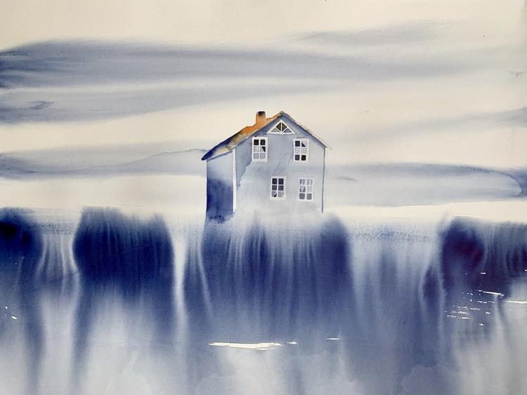 'House of September', 2019, ett konstverk av Tuva Andersen