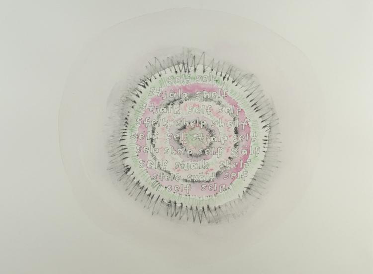 'Self', 2019, ett konstverk av Åse Frid