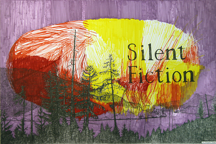 'Silent Fiction', 2013, ett konstverk av Lisa Stålspets