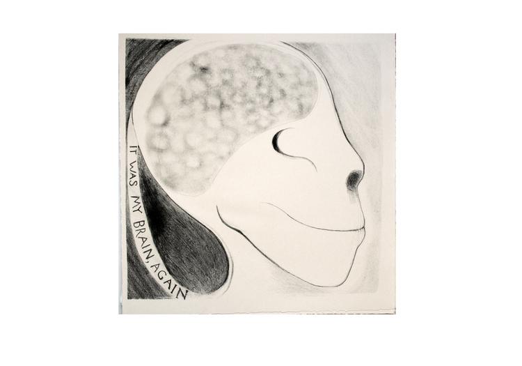 'It Was My Brain Again', 2011, ett konstverk av Nikolina Ställborn