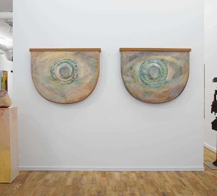 'Vad som finns inuti glasögonen', 2017, ett konstverk av Max Ockborn