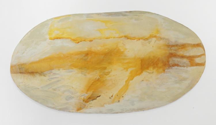 'Flygande eld och sten i ljus', 2016, ett konstverk av Max Ockborn