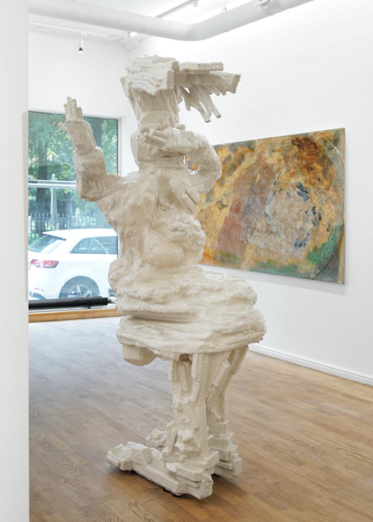'Danssteget', 2019, ett konstverk av Max Ockborn