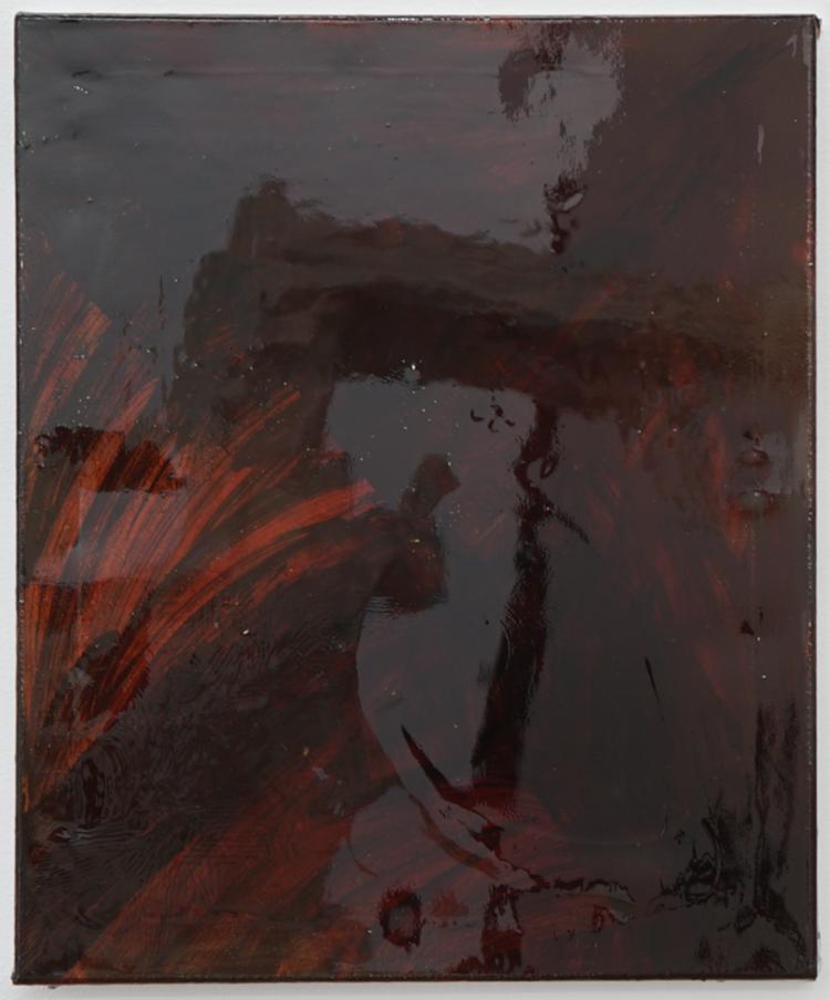 'Vulkanstorm I', 2019, ett konstverk av Max Ockborn