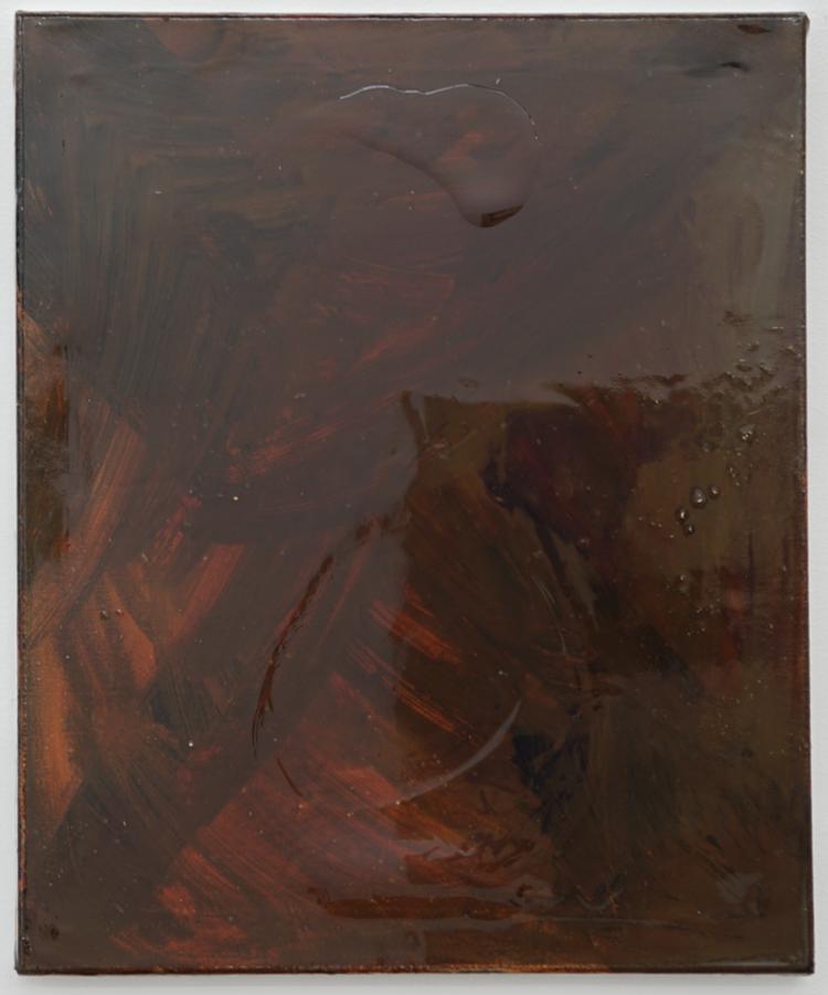 'Vulkanstorm II', 2019, ett konstverk av Max Ockborn