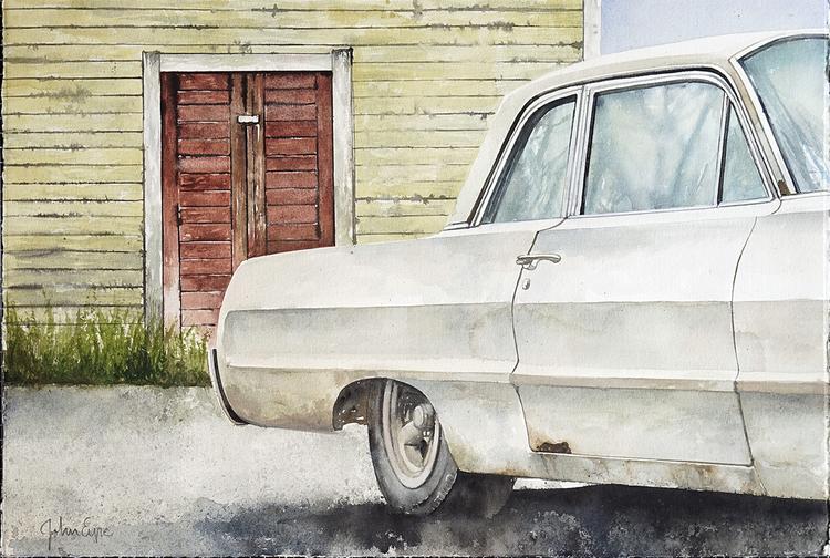'Impala, Kristinehamn', ett konstverk av John Eyre