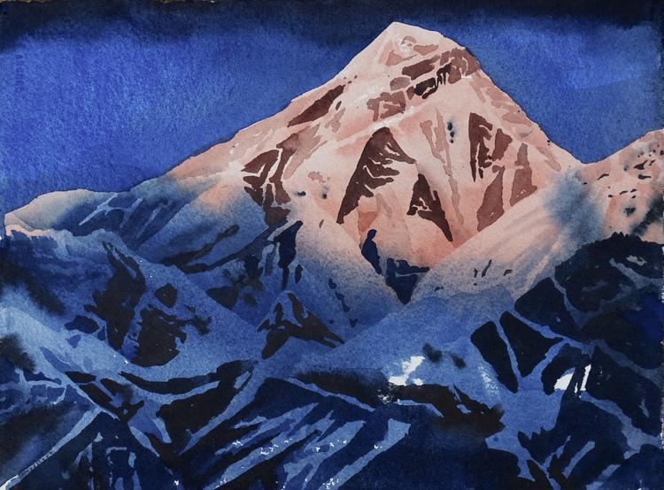 'Annapurna III', 2017, ett konstverk av Erik Hårdstedt
