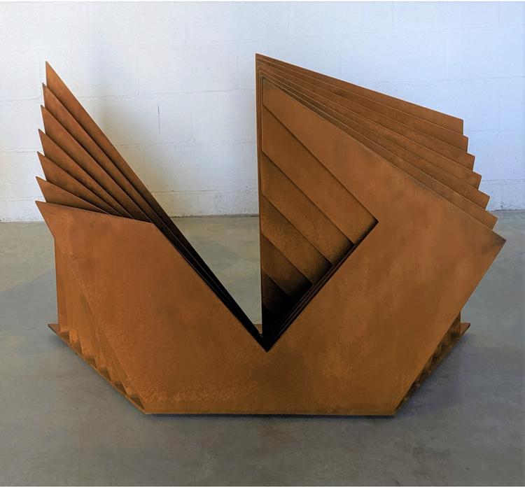 'Induction', 2019, ett konstverk av Matias Di Carlo