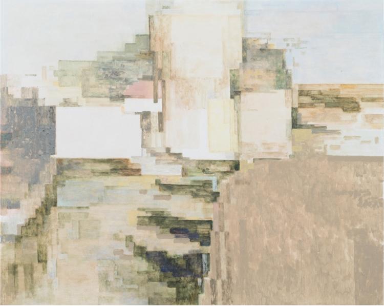 'Cache_Summer18 (Painting no 1), 2018', 2019, ett konstverk av Daniel Fleur