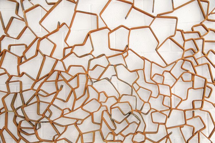 'Flow (wall piece)', 2019, ett konstverk av Matias Di Carlo