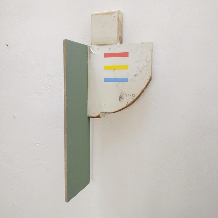 'Rudder', 2019, ett konstverk av Anders Kappel
