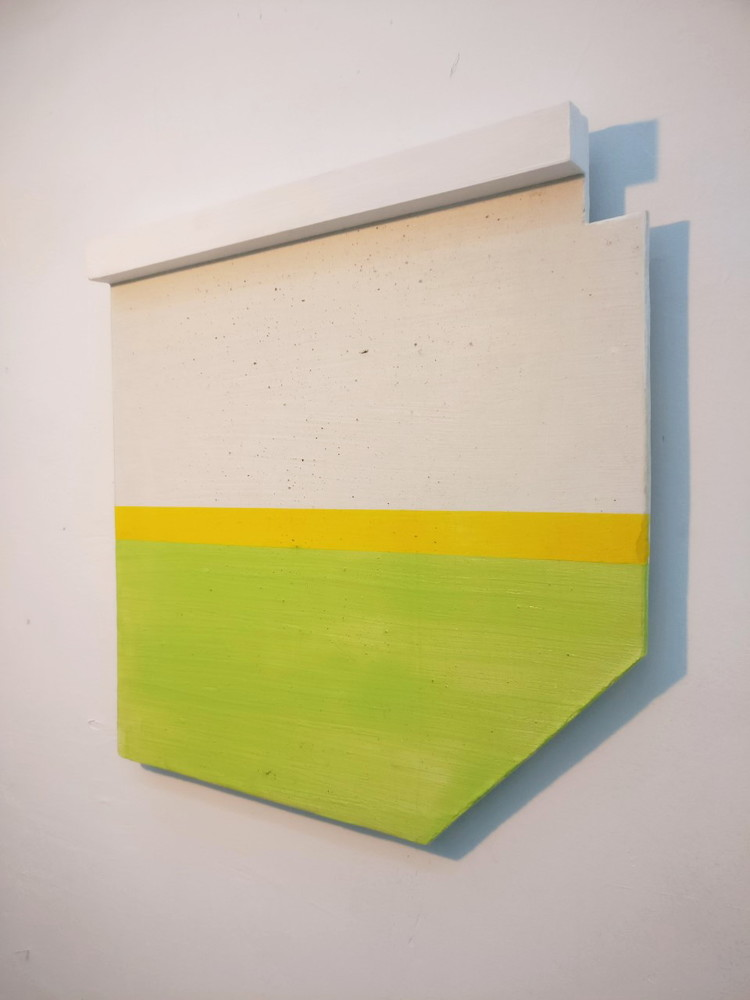 'Centreboard', 2019, ett konstverk av Anders Kappel