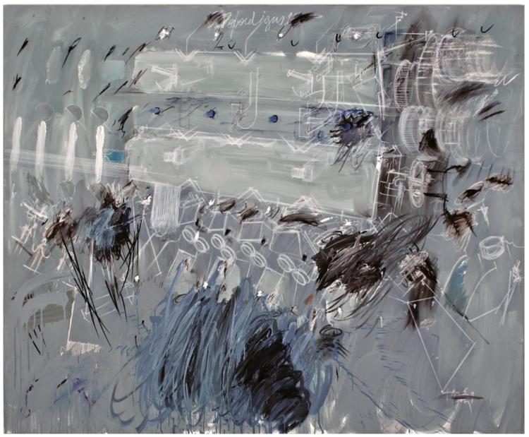 'LAPSUS 37', 2014, ett konstverk av Konstantino Dregos