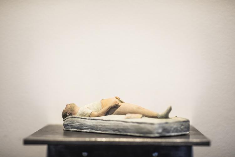 'Måndag', 2020, ett konstverk av Henrik Ekesiöö