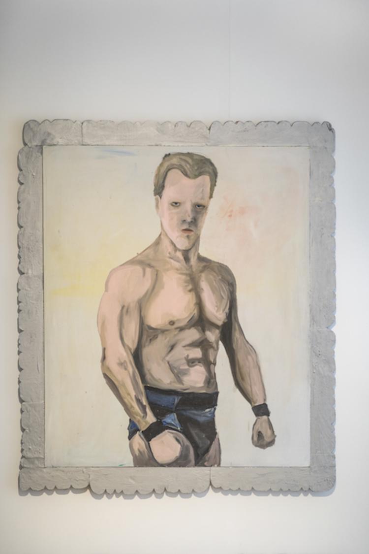 'Chris Jericho', 2020, ett konstverk av Henrik Ekesiöö