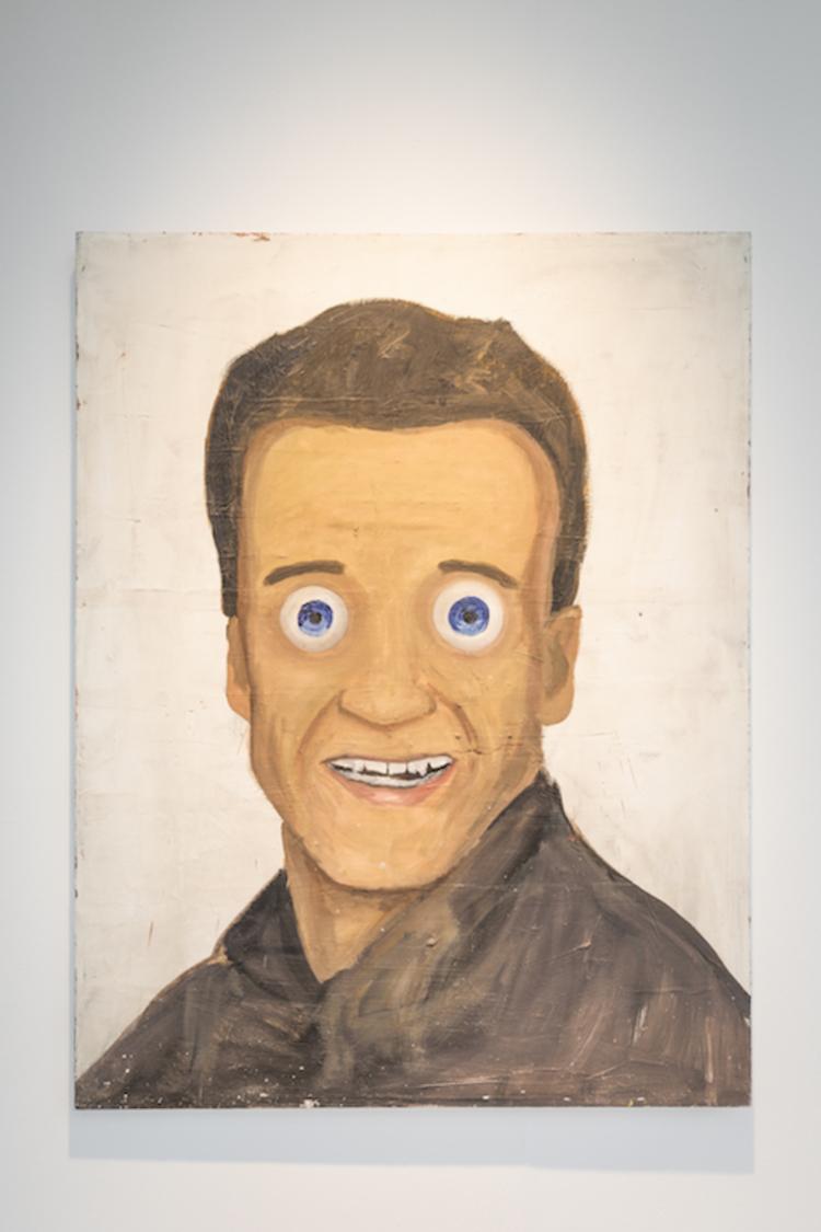 'Arnie', 2020, ett konstverk av Henrik Ekesiöö