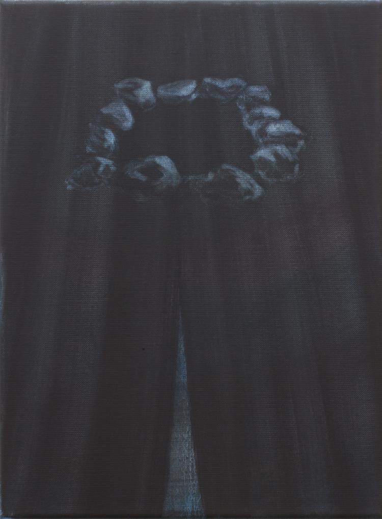 'Nekromanti', 2018, ett konstverk av Benjamin Andersson