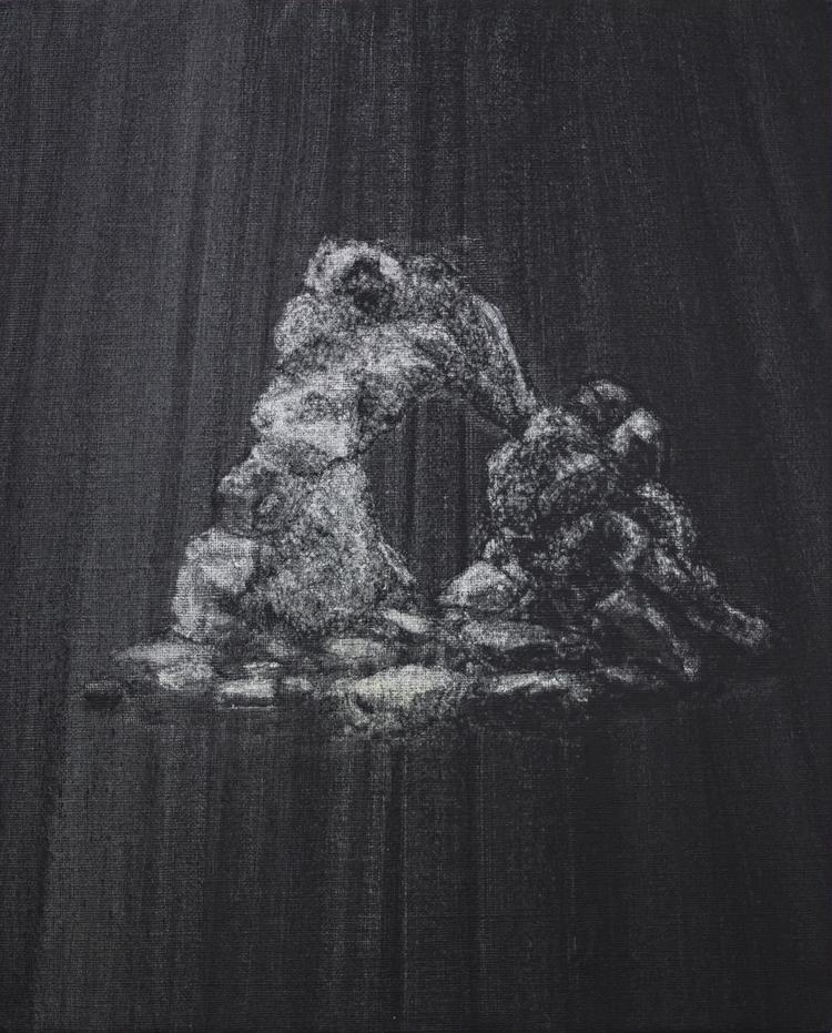'Vadställe (igen)', 2019, ett konstverk av Benjamin Andersson