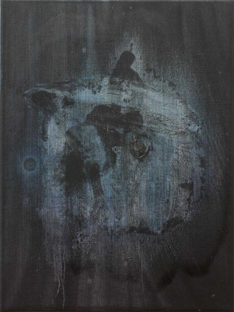 'Översinnlig', 2018, ett konstverk av Benjamin Andersson