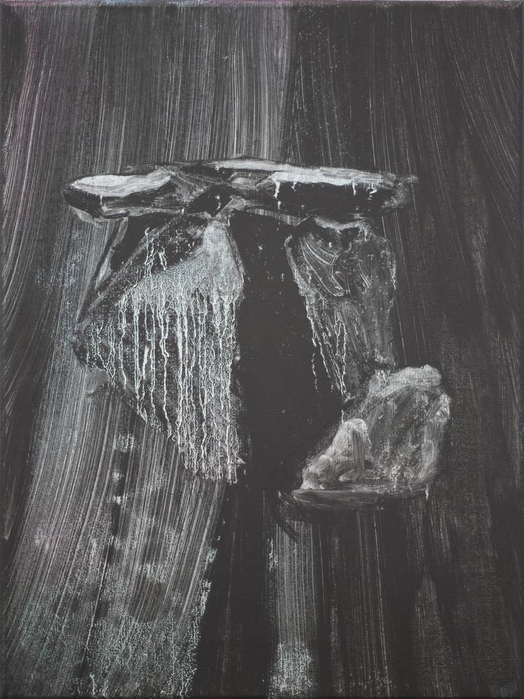 'Vägvisare', 2019, ett konstverk av Benjamin Andersson