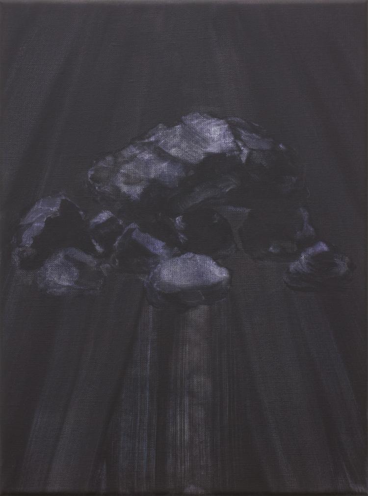 'Huenengrab', 2018, ett konstverk av Benjamin Andersson