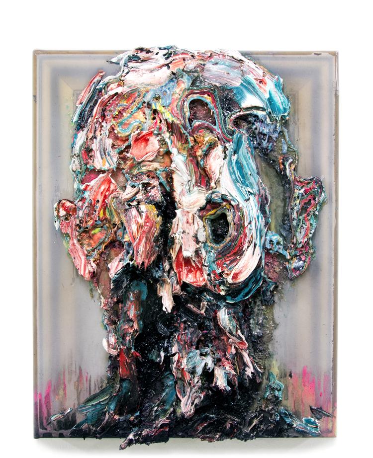 'Collusion', 2019, ett konstverk av Bergthor Morthens