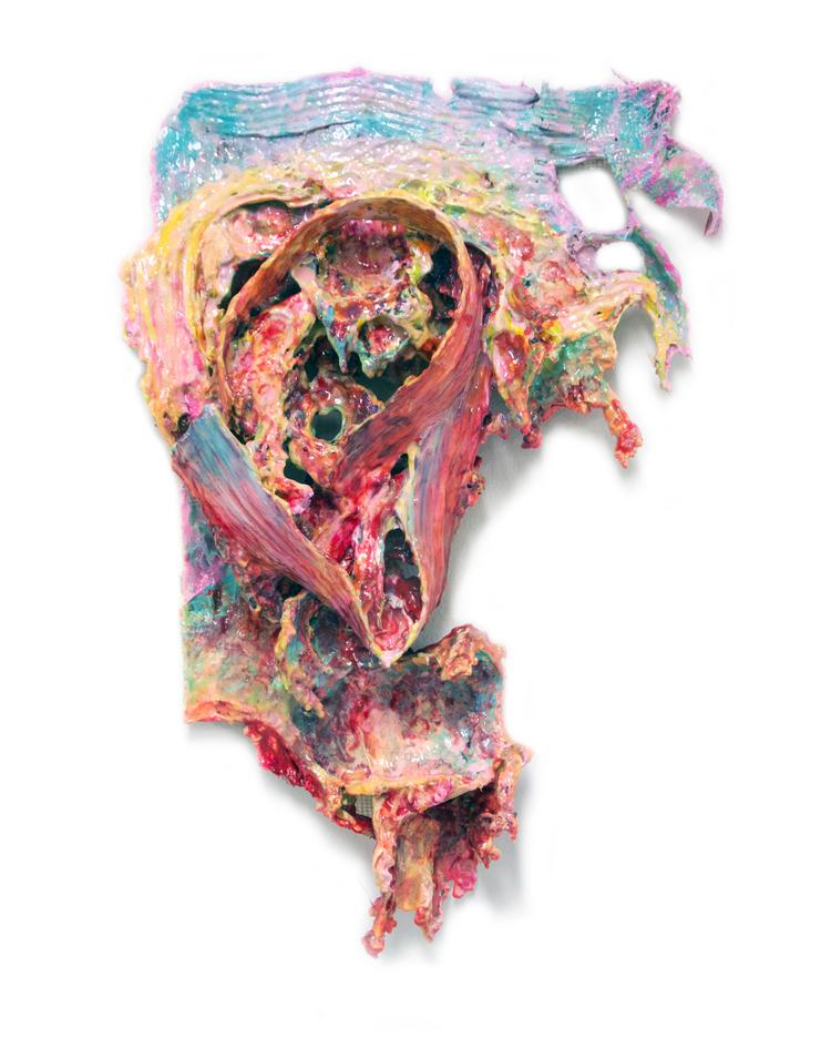 'Foul', 2020, ett konstverk av Bergthor Morthens