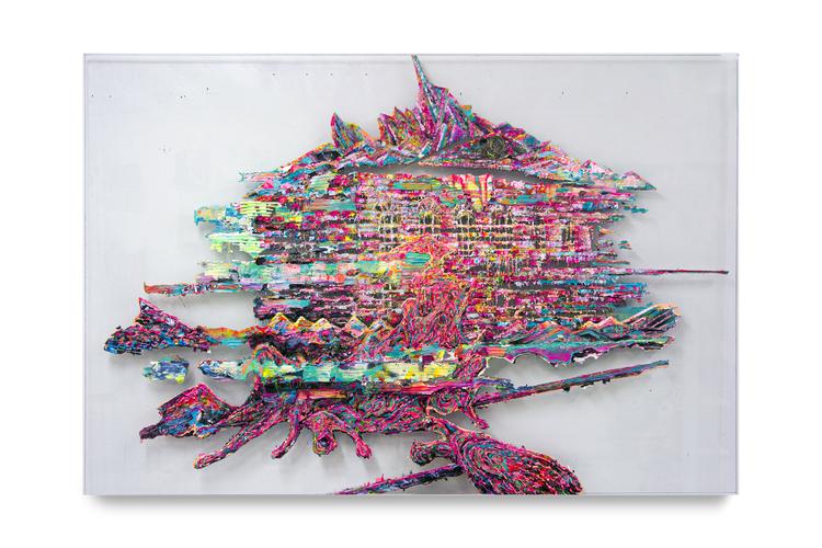 'The Wreck', 2020, ett konstverk av Bergthor Morthens