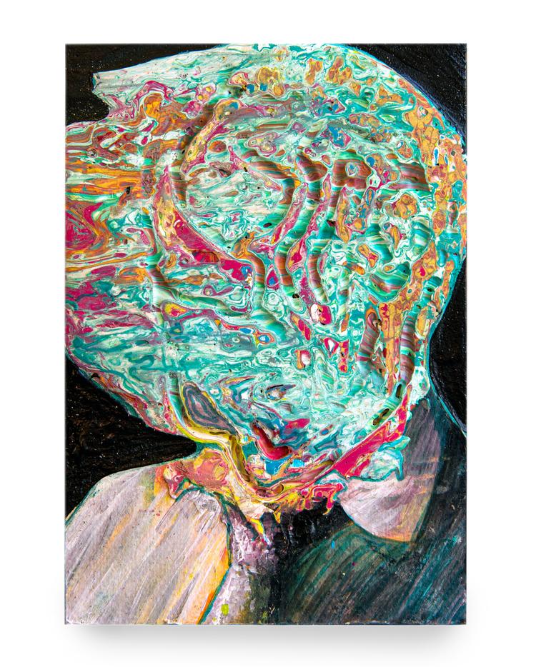 'Self Portrait as Someone Else', 2019, ett konstverk av Bergthor Morthens